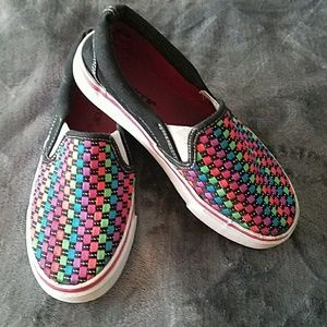 Other - Girls slip on sneakers size 1